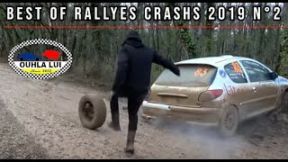 Best of Rallyes Crashs \u0026 Mistakes 2019 N°2 by Ouhla lui