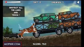 Smilodon Rampage (Day 1-4) | Games for kids/Gameplay/Walkthrough