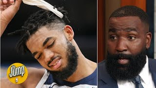 What Is Kendrick Perkins' Timberwolves Temperature Now? | The Jump