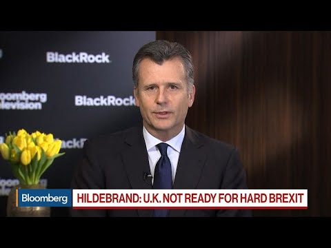 BlackRock's Hildebrand Says U.K. Simply Not Ready for a Hard Brexit
