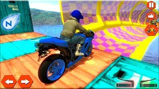 Extreme Bike Stunts Mania - Gameplay Android game - xtreme bike game