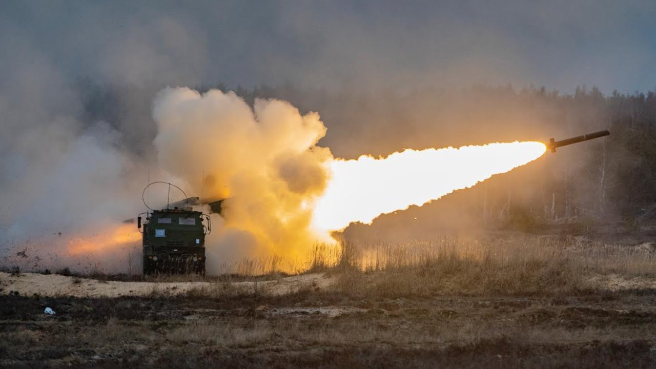 US Military News • Wyoming Army National Make History with First Live-Fire HIMARS