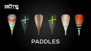 Axe Paddle Board Paddles and BOTE Paddle Bag