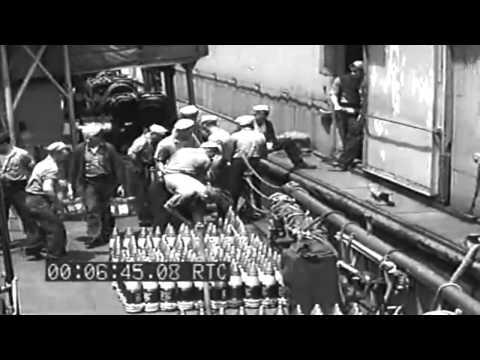 "Landing Supplies At Abemama Atoll, Gilbert Islands & Italian Submarine ""Argento"" POWs, 1943"