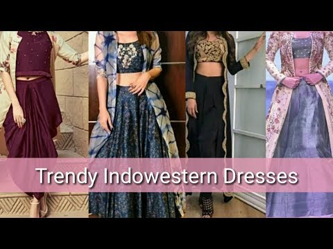 new-indo-western-dresses-||-2020-||-party-wear-indo-western-dresses-||