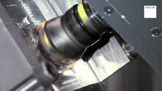 5 axis machining of an aerospace component titanium tial6v4