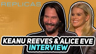 Replicas (2019) - Interview - Keanu Reeves, Alice Eve