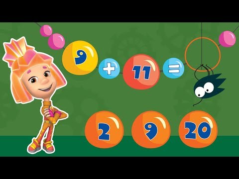 Mathematics for children. Fixichi. Preparation for school