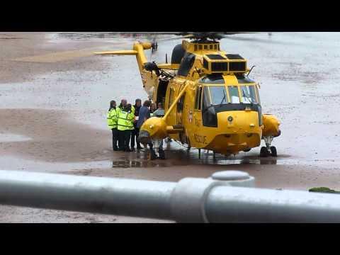 Air Sea Rescue for real at Dawlish Air Day 2011