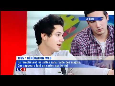 1995 en interview sur LCI dans l'émission 'Le Buzz'