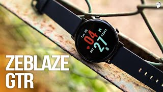 Zeblaze GTR Review | Better than IMILAB KW66 or Mibro smartwatch?