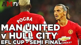 Manchester United V Hull City | EFL Cup - Semi Final | 1st Leg