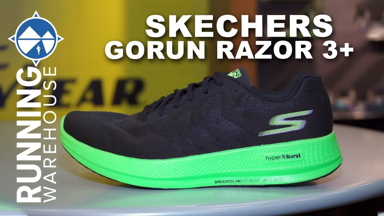 Skechers GOrun Razor+ First Look | A