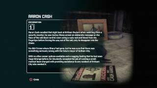 Batman Arkham City Riddle If You Find The Name, Does The Cash Come Hand In Hand?