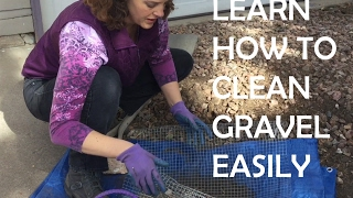 How to Clean Dirt, Leaves and Pine Needles Out of Decorative Gravel