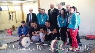 Подкрепа за развитието на спорта в Търговище от министър Красен Кралев