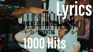 JAMULE x CRO  1000 Hits (lyrics)