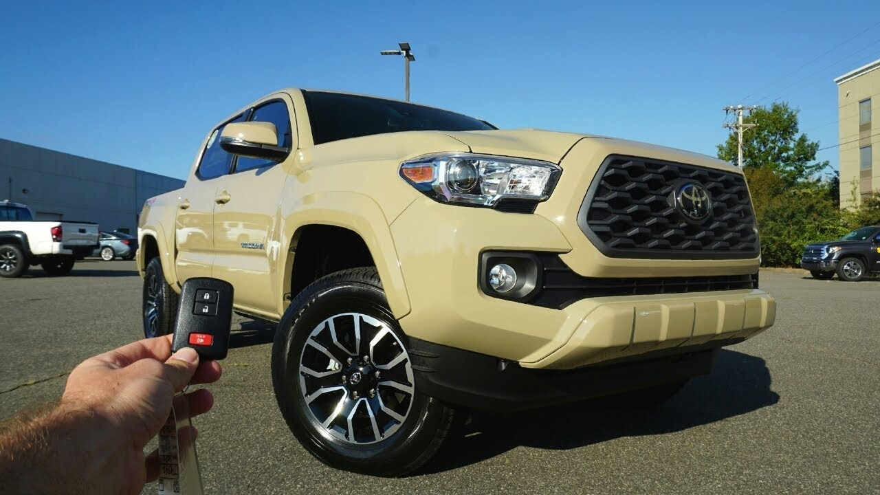 2020 Toyota Tacoma TRD Sport: Start Up, Test Drive, Walkaround and Review