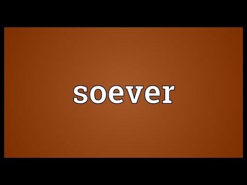 Header of soever