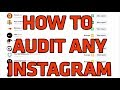 How To Audit Instagram Accounts to see Who's FAKE