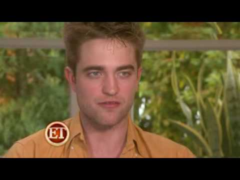 Robert Pattinson & Kristen Stewart Chat About Marriage & Awkward Kisses