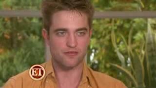 Robert Pattinson & Kristen Stewart Chat about Marriage & Awkward Kisses