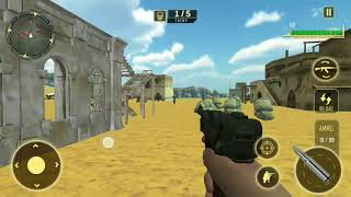 World war 2 army survival Android Gameplay