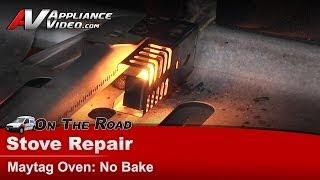 Oven & Range Repair - Not baking or heating, Whirlpool, Maytag , KitchenAid - MGR5775QDW