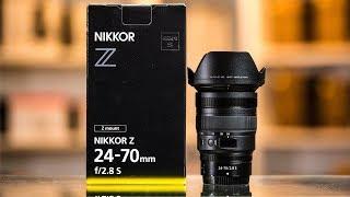 Nikon Z 24-70 f2.8 S Hands-On Preview | Lighter, Smaller, BETTER?