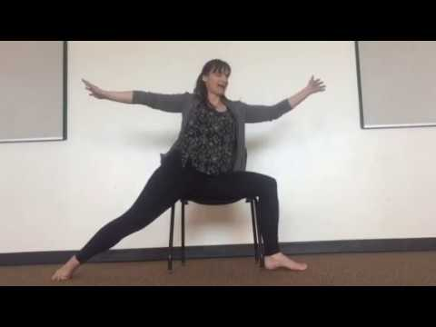 Chair Yoga: Warrior 1 & Warrior 2
