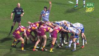 Huddersfield Giants vs Wigan Warriors - Tries & Highlights - Round 2 of Super League - 12/02/2016