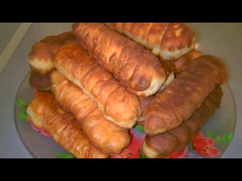 Рецепты Пирожки сосиска в тесте/Пошаговый и быстрый рецепт