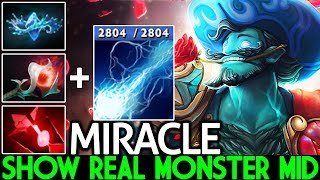 MIRACLE [Storm Spirit] Pro Show Real Monster Mid 1000 XPM 7.23 Dota 2