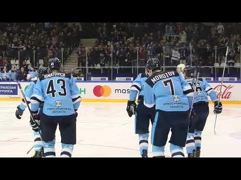 Шесть шайб ХК Сибирь в ворота Югры