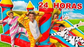 24 HORAS EN CASTILLO INFLABLE