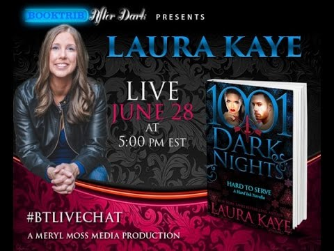 Interview With Laura Kaye, Author Of 'Hard To Serve: A Hard Ink/Blasphemy Crossover Novella' Mp3
