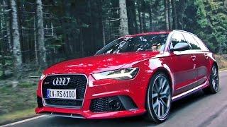 2016 audi rs6 performance 605 hp footage