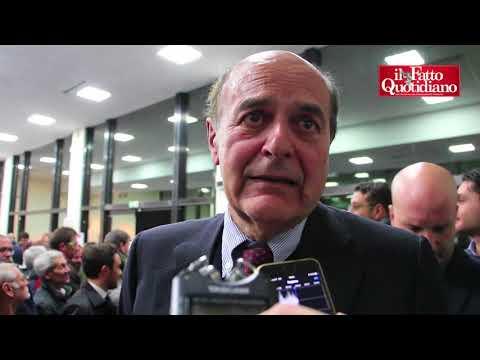 """Pd-Mdp, a Bersani non piacciono le """"ammucchiate"""": """"La palla ce l'hanno loro. Pd non è sinistra"""""""