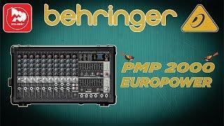 BEHRINGER PMP2000 - микшерный усилитель  (Powered Mixer )(BEHRINGER PMP 2000 EUROPOWER https://goo.gl/oyWiio – это усилитель и микшерный пульт в одном корпусе. Удобный и функциональный..., 2016-01-20T07:44:26.000Z)
