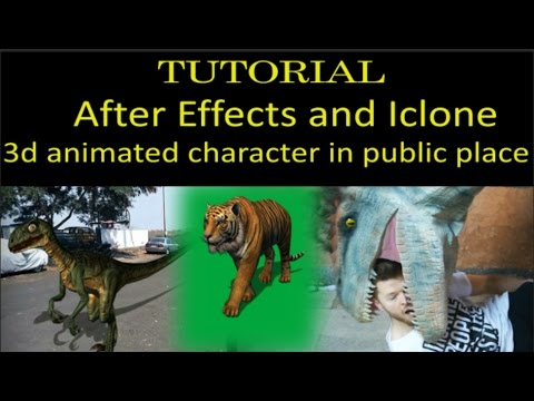 Best 3d Animation Tutorial for Movies using Iclone and After Effects