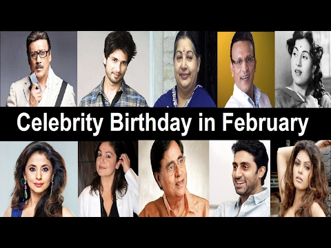 Bollywood Celebrity Birthday In February