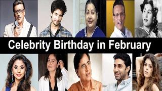 Bollywood Celebrity Birthday in February