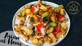 The BEST Tangsuyuk Korean Sweet and Sour Pork!