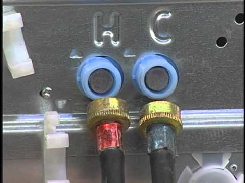 Connecting The Drain Hose And Inlet Hoses To Your Washer