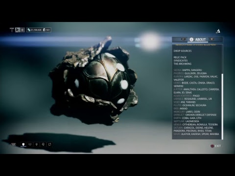 Warframe hydroid prime blueprint relic drop location youtube warframe hydroid prime blueprint relic drop location malvernweather Gallery