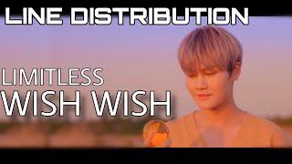 Limitless  리미트리스  - Wish Wish Line Distribution  Color Coded