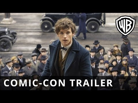 Fantastic Beasts and Where to Find Them Comic-Con Trailer Official Warner Bros. UK