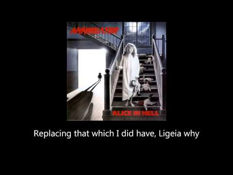 Annihilator - Ligeia (Lyrics)