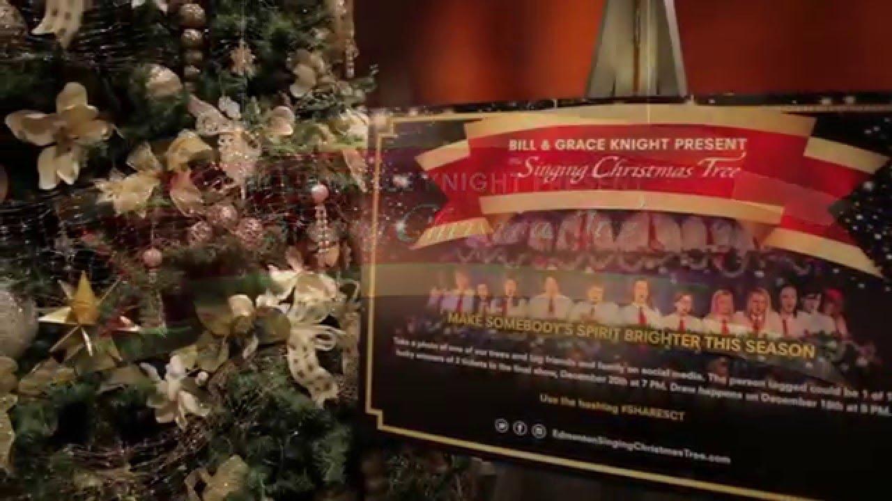 Singing Christmas Tree Edmonton