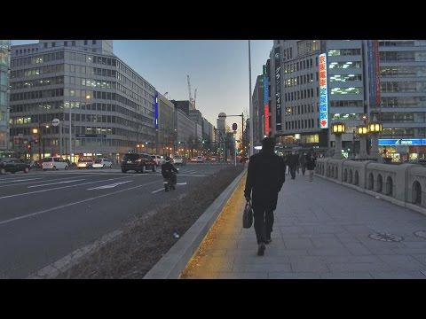 御堂筋 Midosuji Street-Osaka, Japan